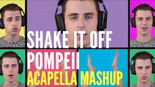 Mike Tompkins - Shake It Off / Pompeii (Video ufficiale e testo)