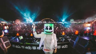 Marshmello @ EDC Las Vegas 2017 (kineticFIELD)