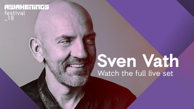 Awakenings Festival 2018 Sunday - Liveset Sven Väth @ Area V