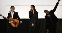 Rihanna, FourFiveSeconds live ai Grammy 2015 con Kanye West e Paul McCartney