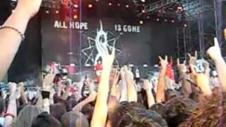 Slipknot - Sid Wilson si lancia @ Sonisphere Festival (italy 2011)