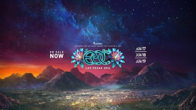 EDC VEGAS 2016 - LIVE STREAMING DAY 2