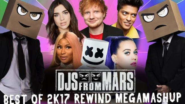 Djs From Mars -  Best Of 2017 Rewind Megamashup - 40 tracks in 5 minutes