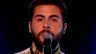 Andrea Faustini - Listen (terzo Live X Factor UK)
