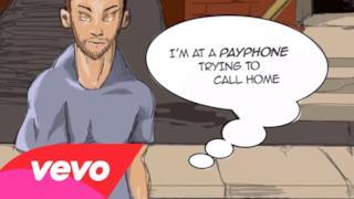 Maroon 5 - Payphone (Lyrics video) feat. Wiz Khalifa