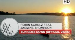 Robin Schulz feat. Jasmine Thompson - Sun Goes Down (video ufficiale, testo e traduzione)