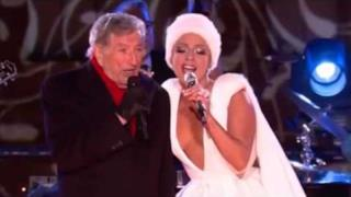 Lady Gaga & Tony Bennett - Winter Wonderland live @ Christmas In Rockefeller 2014 (video e testo)