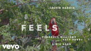 Calvin Harris - Feels (Video ufficiale e testo)
