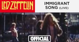 Led Zeppelin - Immigrant Song (Video ufficiale e testo)