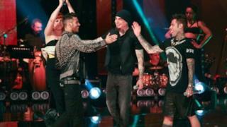 J-Ax, Fedez, Emis Killa e Noemi - The Monster (live The Voice of Italy 2)