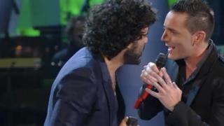 Francesco Renga con Kekko Silvestre - Un giorno credi (Sanremo 2014 duetti)