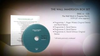 Pink Floyd - The Wall Immersion lancio del box set