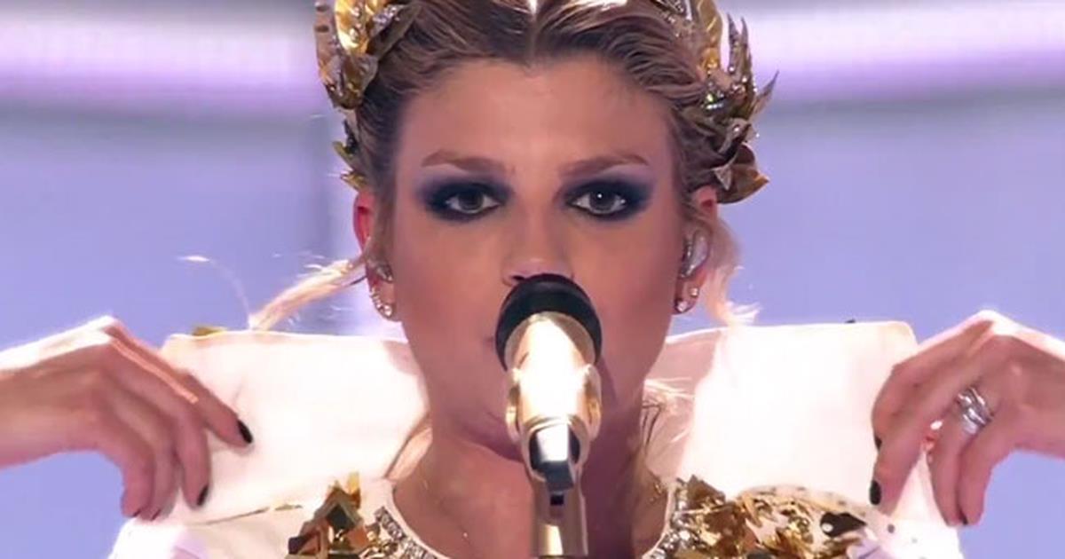 Emma Marrone - La Mia Cittá (finale Eurovision Song ...