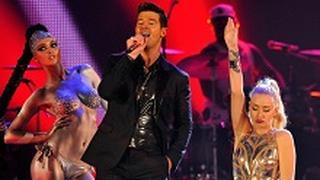 Robin Thicke e Iggy Azalea agli MTV EMA 2013