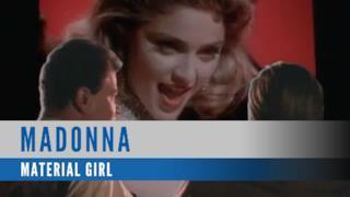 Madonna - Material Girl (Video ufficiale e testo)