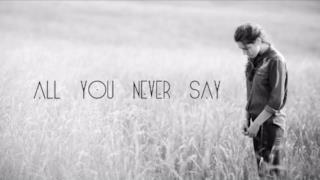 Birdy - All You Never Say | Lyrics video, testo e traduzione