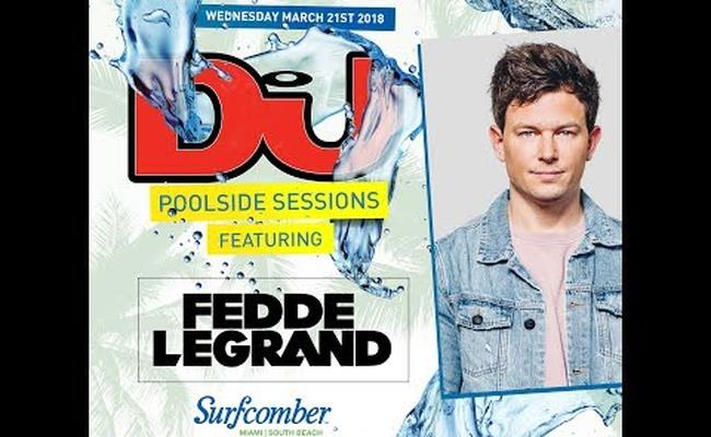 Fedde Le Grand Live From DJ Mag's Pool Party In Miami