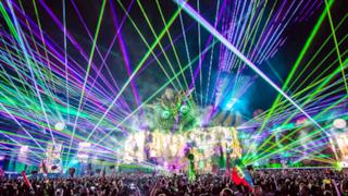 Calvin Harris live EDC Las Vegas 2015