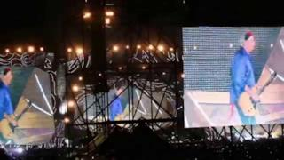 Rolling Stones - Circo Massimo Roma cantano I Can't Get No (Satisfaction)