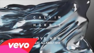 Calvin Harris - Love Now (feat. All About She) (Video ufficiale e testo)