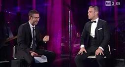 Robbie Williams - Go Gentle - Che tempo che fa 2013