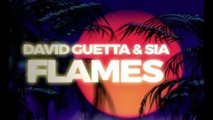 David Guetta - Flames (Video ufficiale e testo)