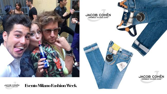 Jacob Cohën evento per la Milano Fashion Week uomo 2014
