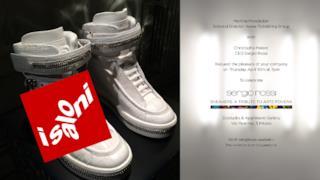 """Fuorisalone 2014: Sergio Rossi presenta """"Sneakers. A tribute to Arte Povera"""""""