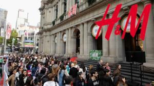 H&M arriva in Australia