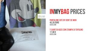 T-shirt di Mickey Mouse e Pantaloni africa style di ASOS