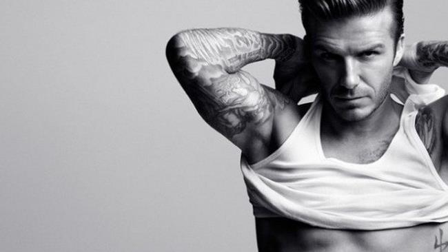 David Beckham nello spot di  H&M per il Super Bowl  2014