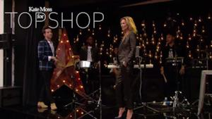 Kate Moss party for Topshop collection