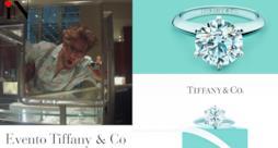 Tiffany & Co evento a Milano in via della Spiga