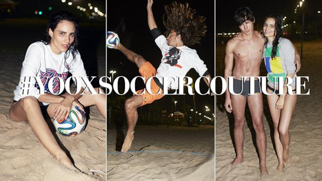 Yoox & SEPP Football Fashion presentano la collezione YOOX SOCCER COUTURE, World Cup 2014