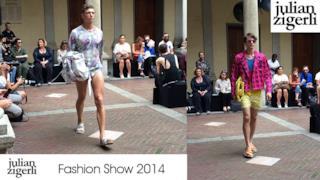 Julian Zigerli Fashion Show spring summer 2015, men collection