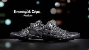 Come indossare le sneakers in pelle di Zegna!