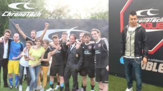 La finale della Chronotech League a Milanello