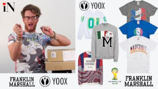Mondiali di Calcio 2014: shopping Yoox e Franklin Marshall