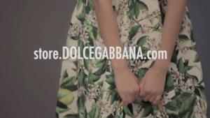 "Dolce&Gabbana ""Jasmine Flower"" print dress"