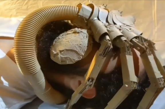 Un gruppo di fan ha rifatto Alien a casa durante la quarantena