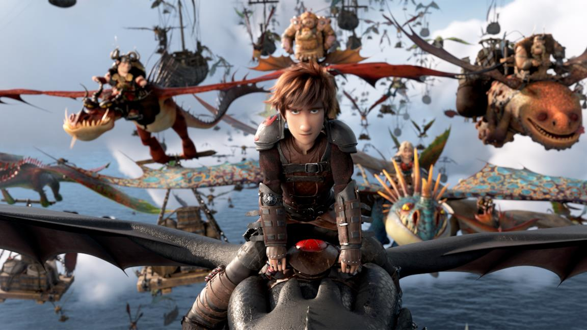 Hiccup in una scena del film