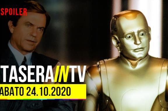 I film e i programmi stasera in TV sabato 24 ottobre 2020