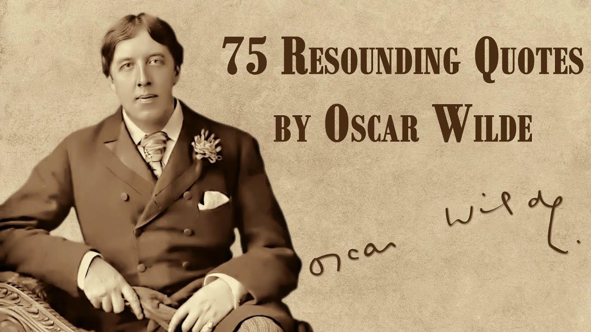Frasi Su Se Stessi Oscar Wilde.Oscar Wilde Le Migliori Frasi Citazioni E Aforismi