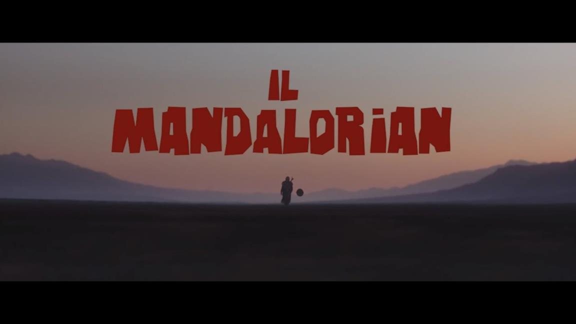 The Mandalorian, il fan-trailer in stile Spaghetti Western è perfetto