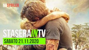 I film oggi in TV - sabato 21 novembre 2020