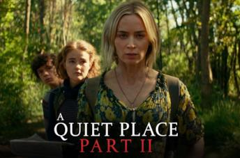 John Krasinski sul set di A Quiet Place 2