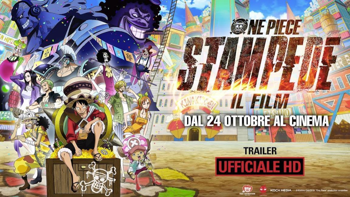 One Piece: Stampede, ecco il primo trailer doppiato in italiano