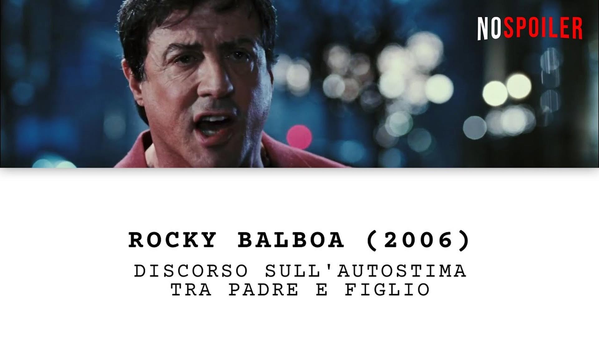 Frasi Celebri Rocky 6.Discorso Sull Autostima Rocky Balboa