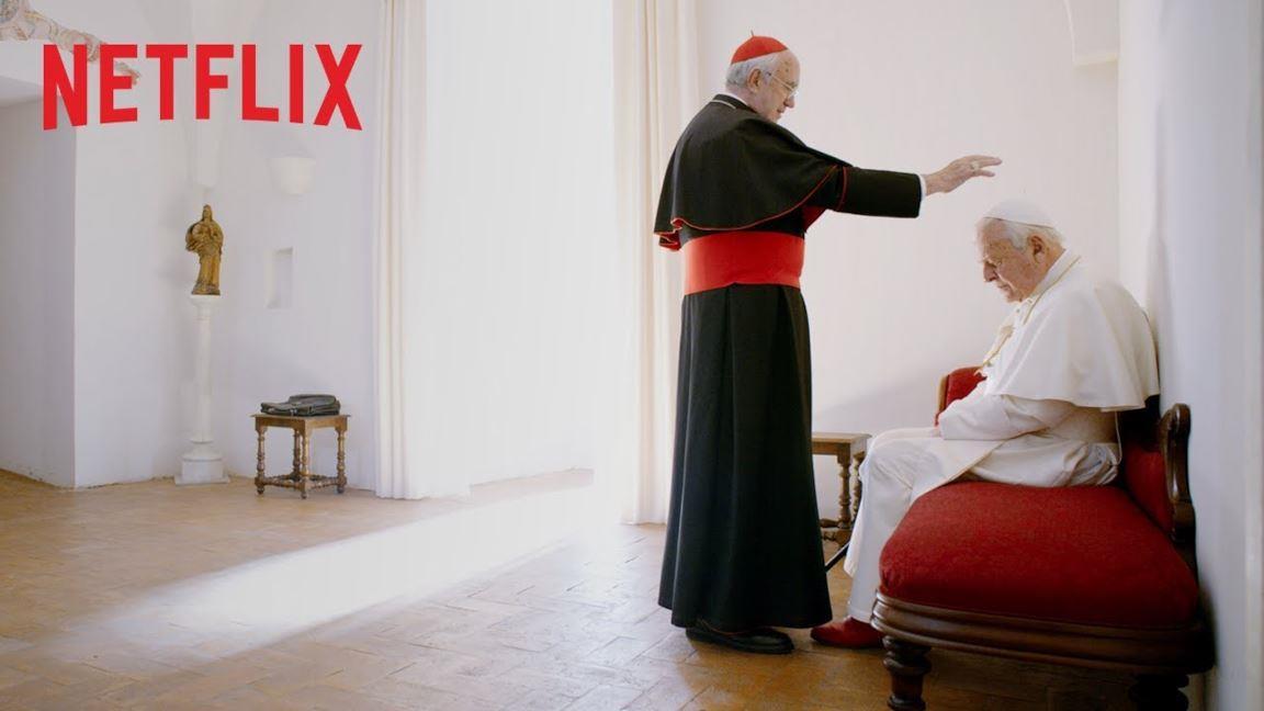 I due Papi, il trailer del film Netflix su Bergoglio e Ratzinger