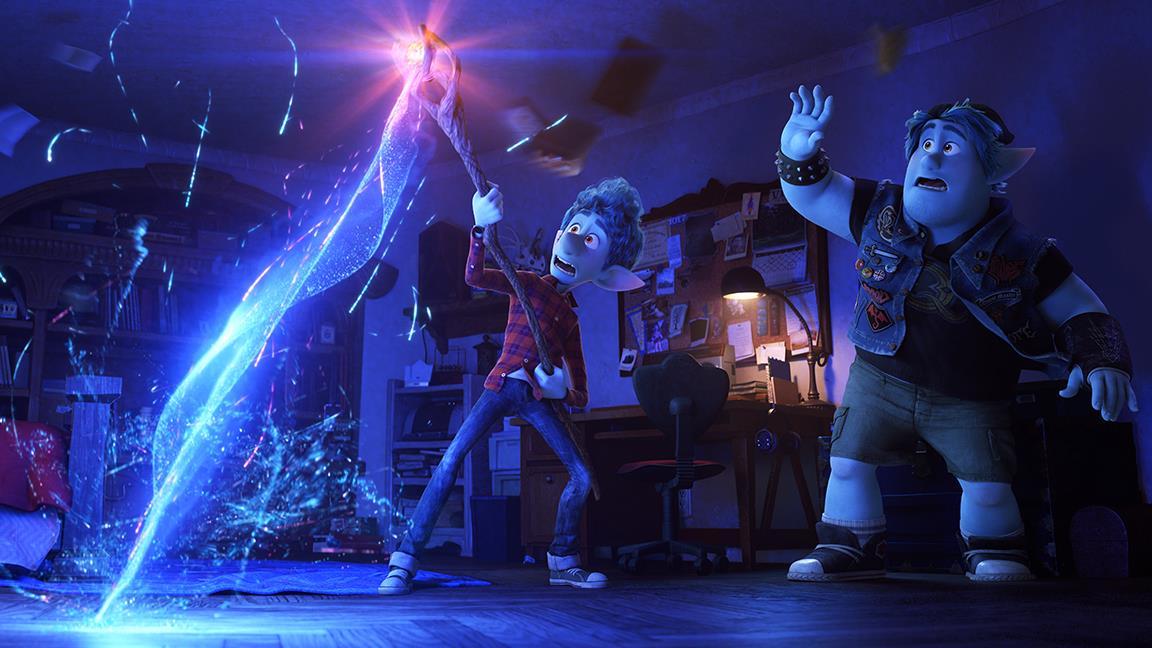Onward, il trailer ufficiale del film Pixar con Chris Pratt e Tom Holland